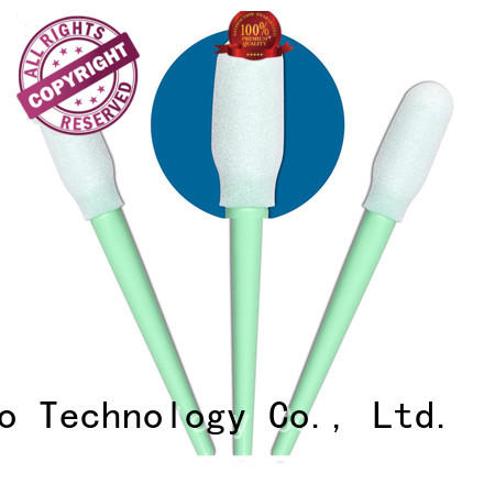 Cleanmo thermal bouded cotton tips supplier for excess materials cleaning