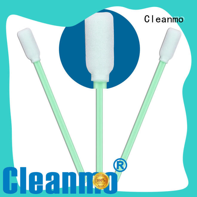 high quality alcohol swabsticks ESD-safe Polypropylene handle wholesale for excess materials cleaning