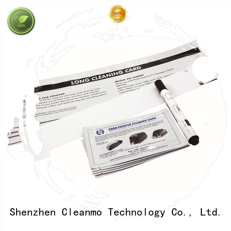 Cleanmo Non Woven Javeling Printer cleaning kit supplier for Javelin J330i printers