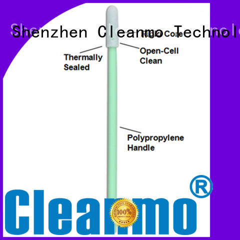 Cleanmo Polyurethane Foam cleanroom swabs wholesale for Micro-mechanical cleaning