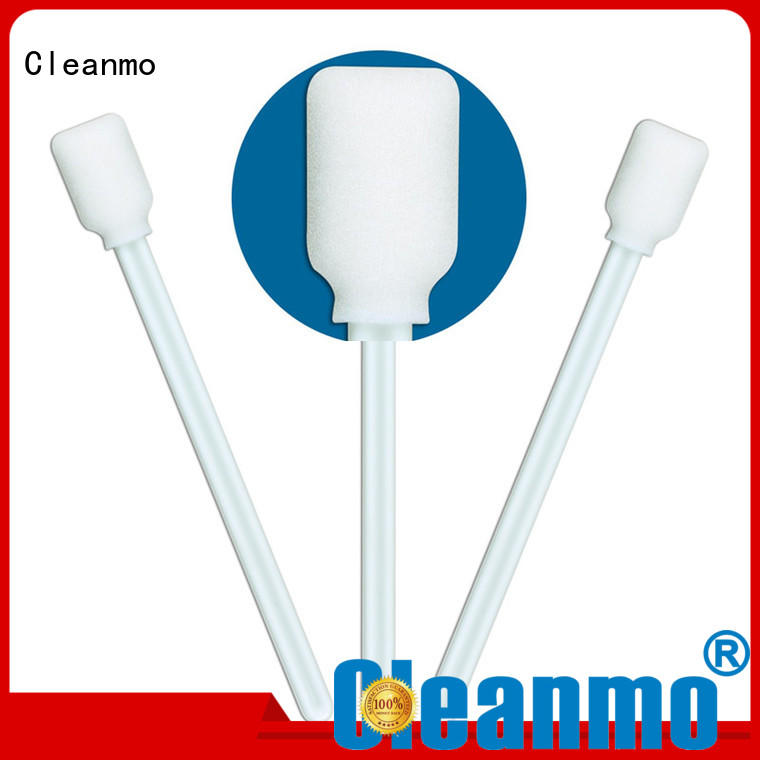 swab silicone Cleanmo Brand medical mouth swabs factory