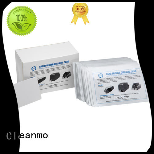 Cleanmo cheap credit card cleaner manufacturer for ATM machines