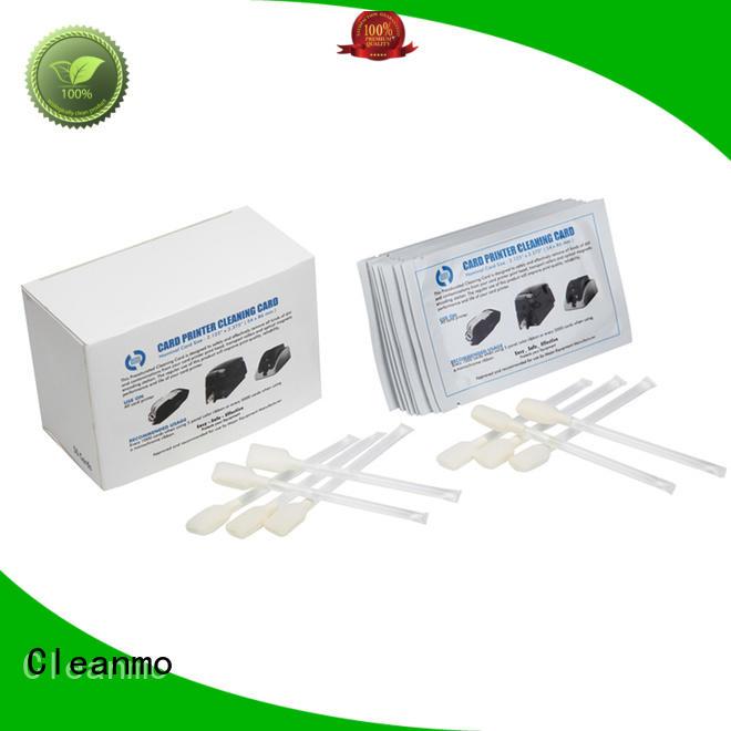 durable zebra cleaning kit blending spunlace supplier for Zebra P120i printer