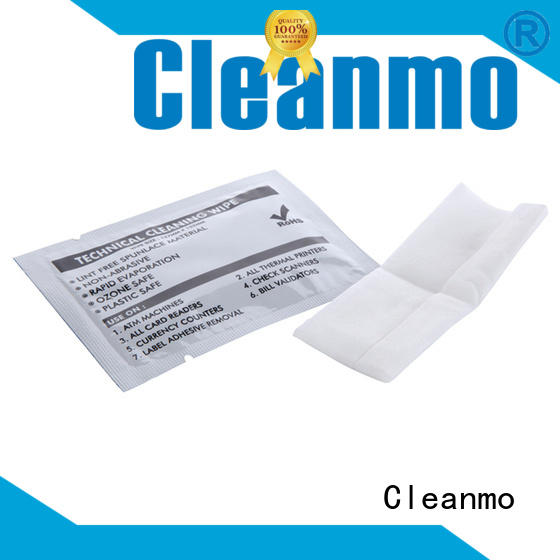 efficient printer cleaning wipes Non Woven Fabric wholesale for Check Scanners