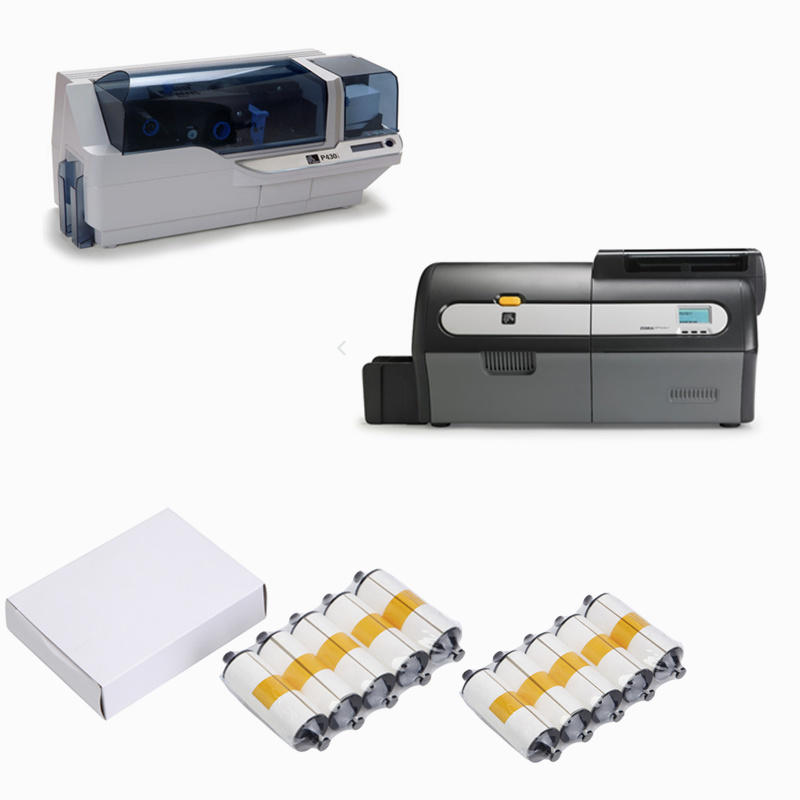 disposable zebra printer cleaning T shape supplier for ID card printers-3