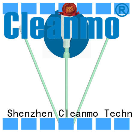 Cleanmo safe material polyester swab manufacturer for optical sensors