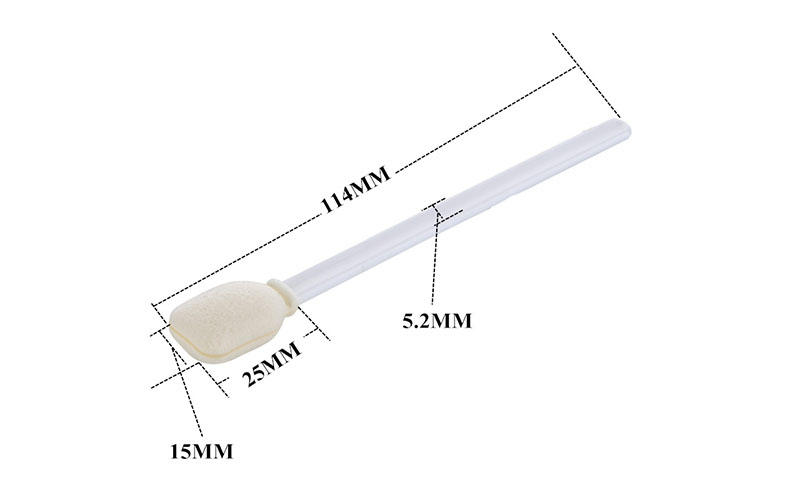 Cleanmo Aluminum Foil printhead cleaning swabs supplier for computer keyboards-3