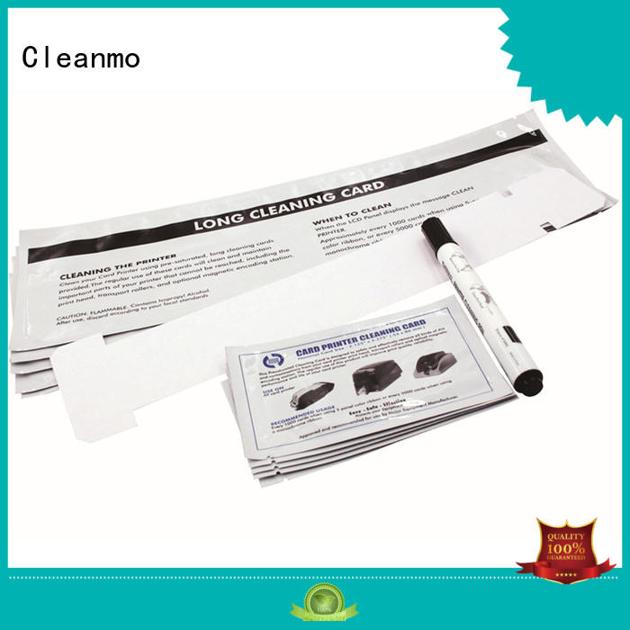 Cleanmo Aluminum foil packing Javeling Printer cleaning kit factory for Javelin J330i printers