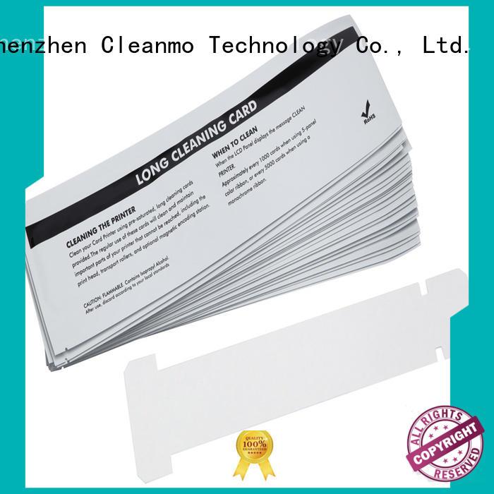 Cleanmo cost effective zebra printer cleaning manufacturer for Zebra P120i printer
