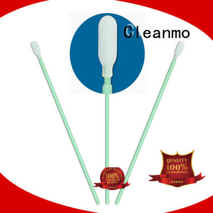 Cleanmo compatible polypropylene polyester swab factory for microscopes