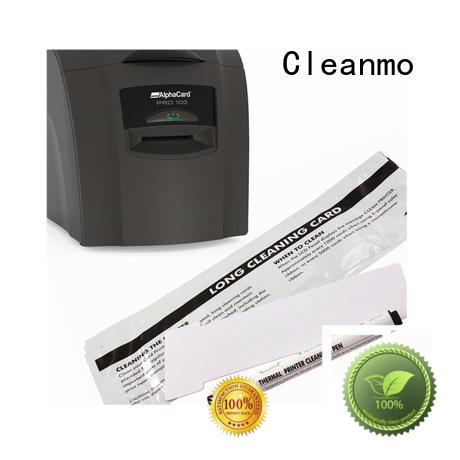 Quality Cleanmo Brand AlphaCard Printer Cleaning Kits printing