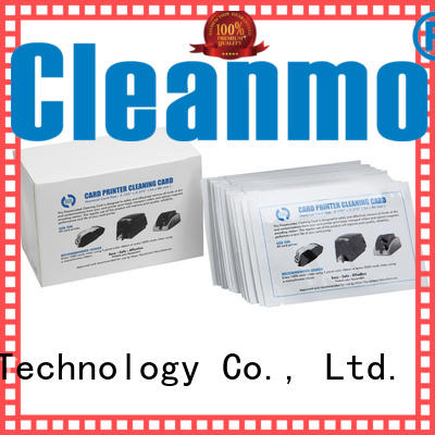 Cleanmo cost effective zebra printer cleaning supplier for cleaning dirt