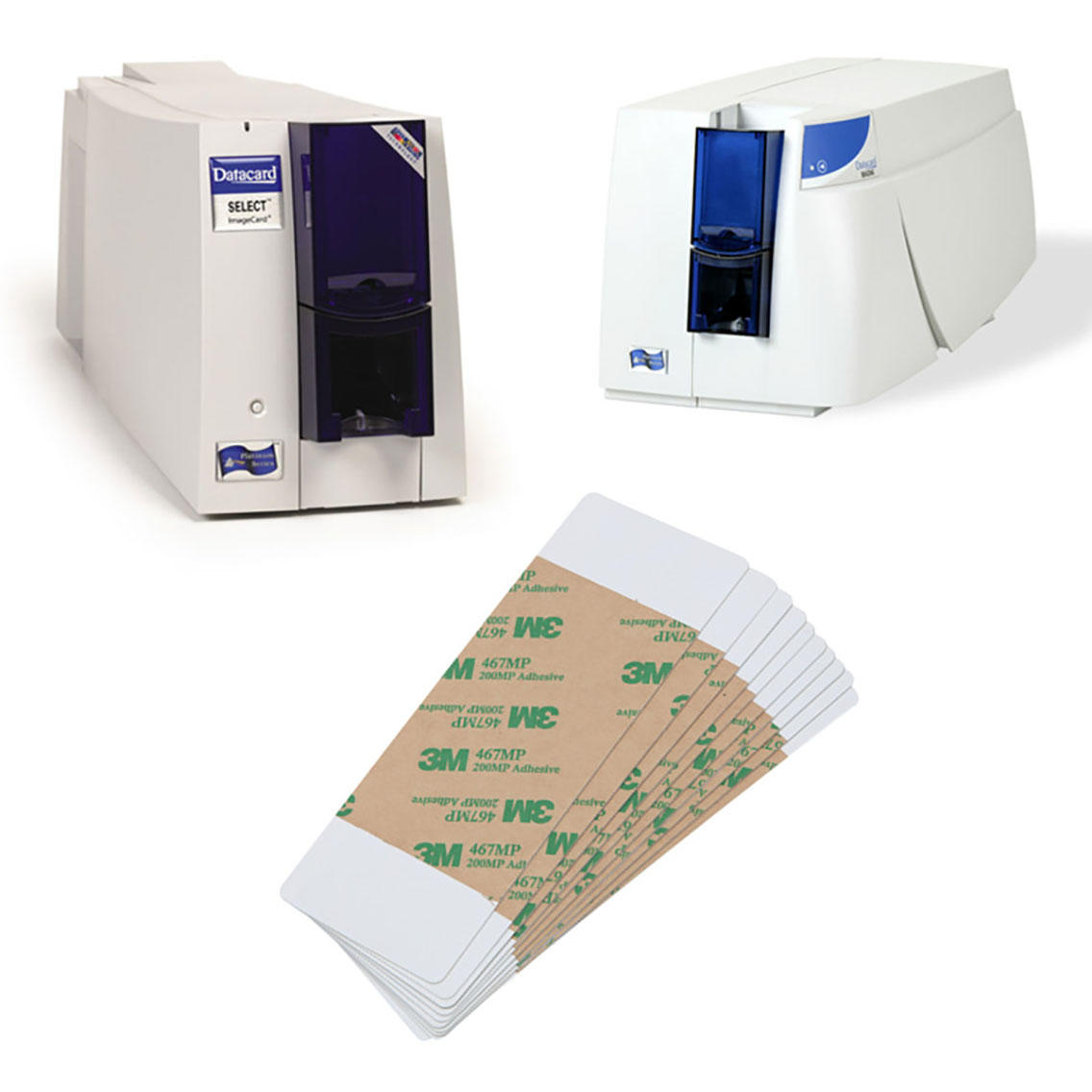 Cleanmo high tack pressure sensitive adhesive print cleaner manufacturer for ImageCard Magna-2