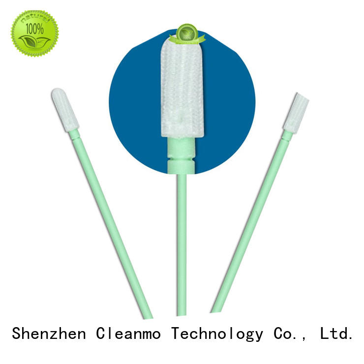 Cleanmo high quality polyester cleanroom swabs manufacturer for printers
