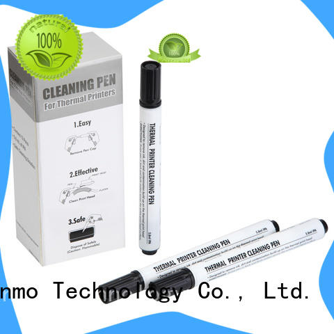 Cleanmo blending spunlace zebra cleaners manufacturer for Zebra P120i printer