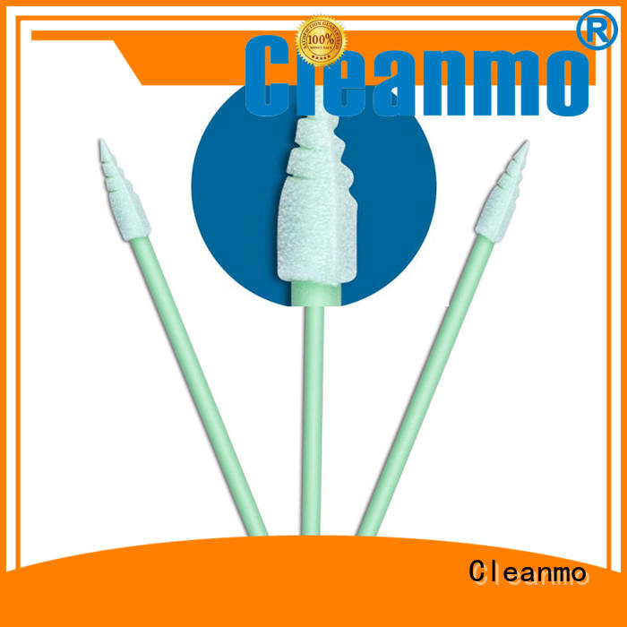 ESD-safe foam tipped swabs ESD-safe Polypropylene handle manufacturer for excess materials cleaning