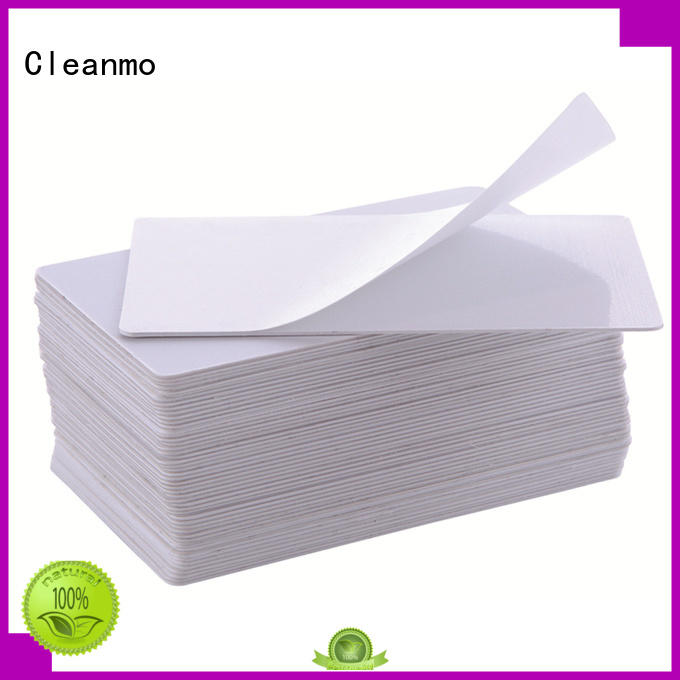 Cleanmo high quality Evolis Cleaning cards manufacturer for Evolis printer