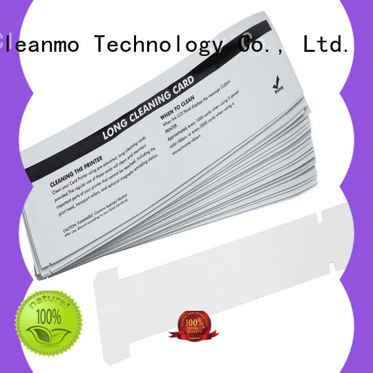 Cleanmo cost effective zebra printhead cleaning factory for cleaning dirt