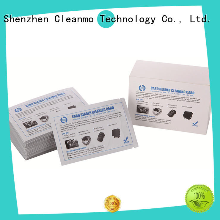 quick printer cleaning supplies Electronic-grade IPA Snap Swab manufacturer for ID card printers