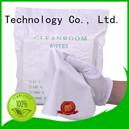 Cleanmo 30% nylon lens cloth supplier for chamber cleaning