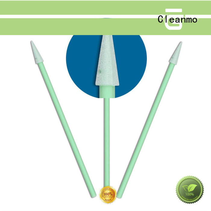 Cleanmo ESD-safe Polypropylene handle ear swab supplier for general purpose cleaning