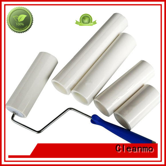 Cleanmo clear protective film sticky roller wholesale for medical device