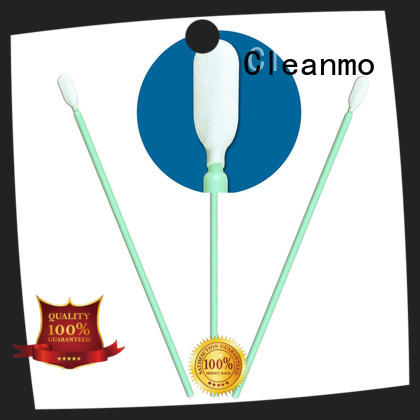 Cleanmo cost-effective Disposable Microfiber Swabs manufacturer for general purpose cleaning