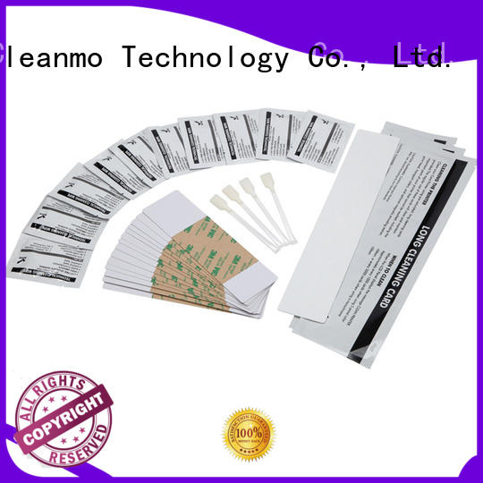 Cleanmo disposable printhead cleaner wholesale for Fargo card printers