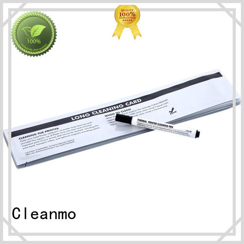 Cleanmo non woven thermal printer cleaning pen factory for prima printers