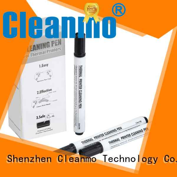 Cleanmo cost effective zebra cleaning card factory for ID card printers