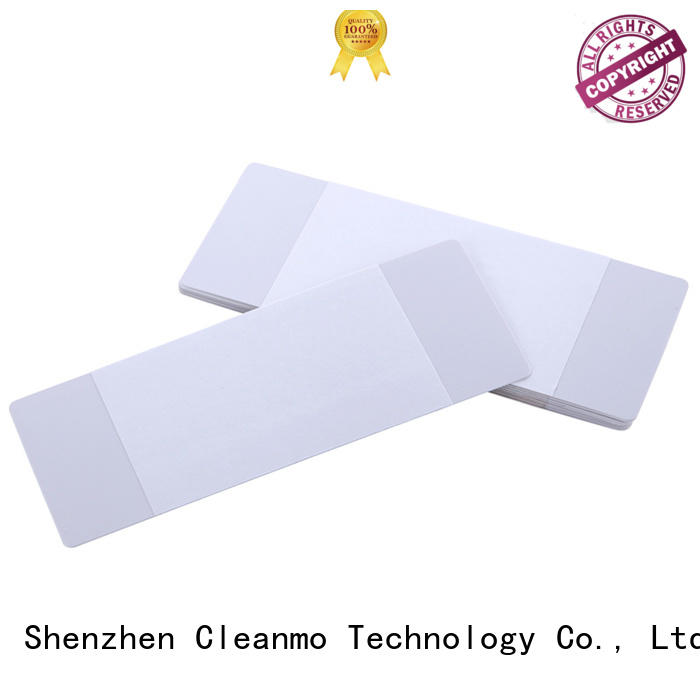 Cleanmo High and LowTack Double Coated Tape printer cleaning supplies wholesale for ID card printers