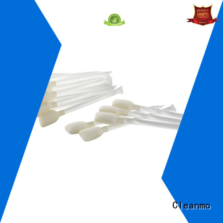 Cleanmo good quality printer swabs manufacturer for ATM/POS Terminals