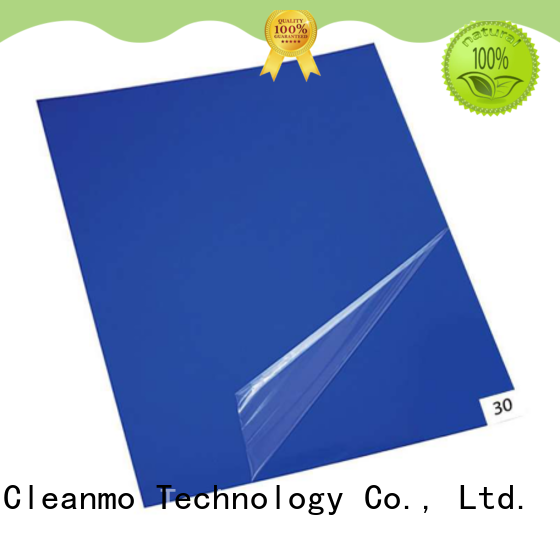 Cleanmo good quality cleanroom tacky mat factory direct for gowning rooms