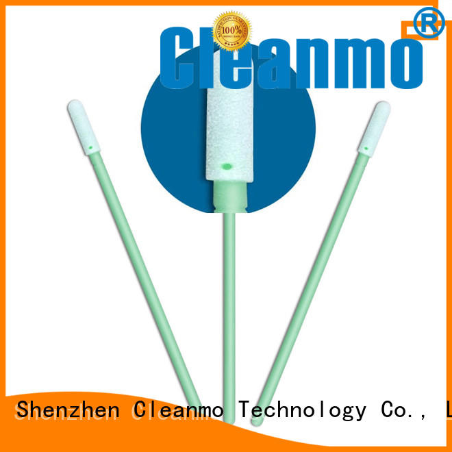Cleanmo precision tip head cotton swab manufacturer for Micro-mechanical cleaning