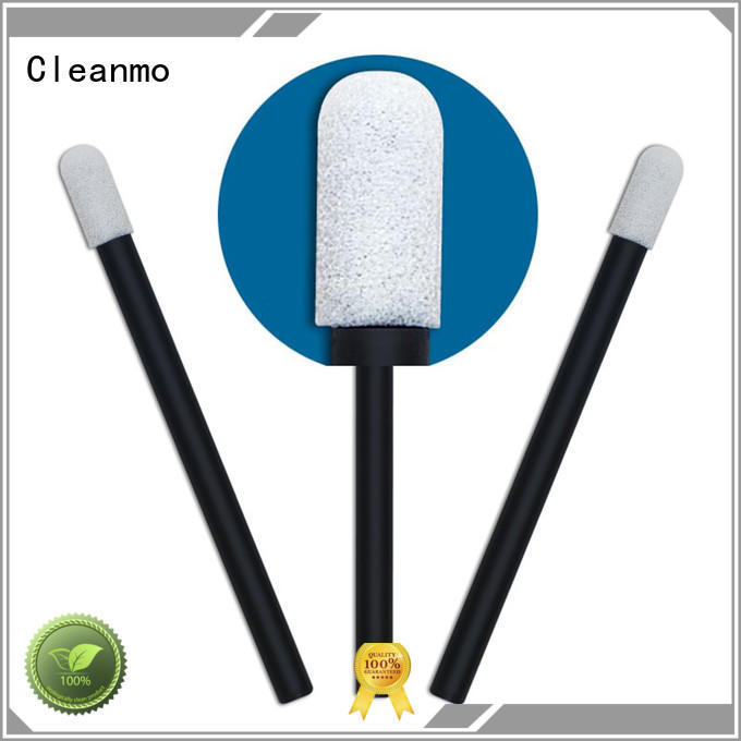 Cleanmo ESD-safe Polypropylene handle long q tips wholesale for general purpose cleaning