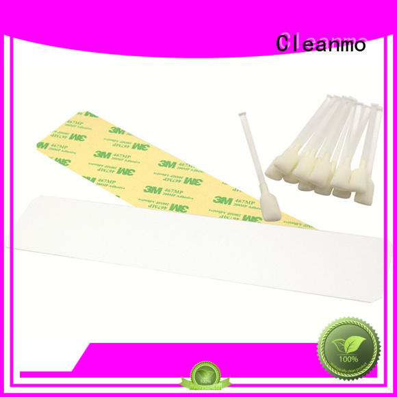 disposable zebra printhead cleaning non woven factory for ID card printers