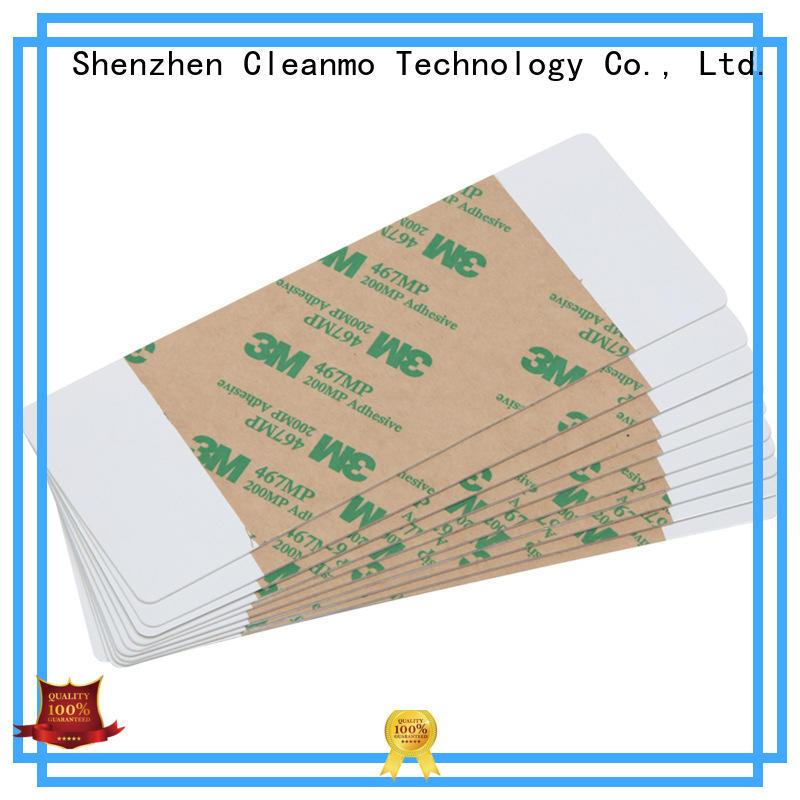 Cleanmo low-tack adhesive paper print cleaner wholesale for Magna Platinum