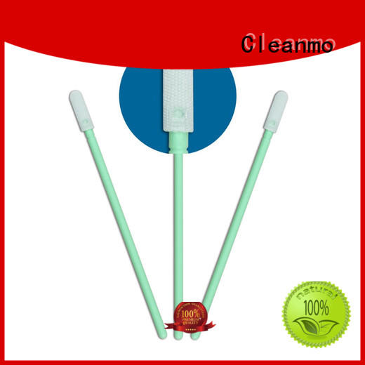ESD-safe Microfiber Industrial Swab Sticks double layers of microfiber fabric manufacturer for Micro-mechanical cleaning