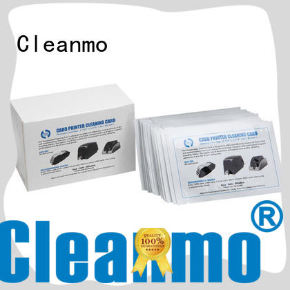 Cleanmo blending spunlace zebra printer cleaning supplier for cleaning dirt