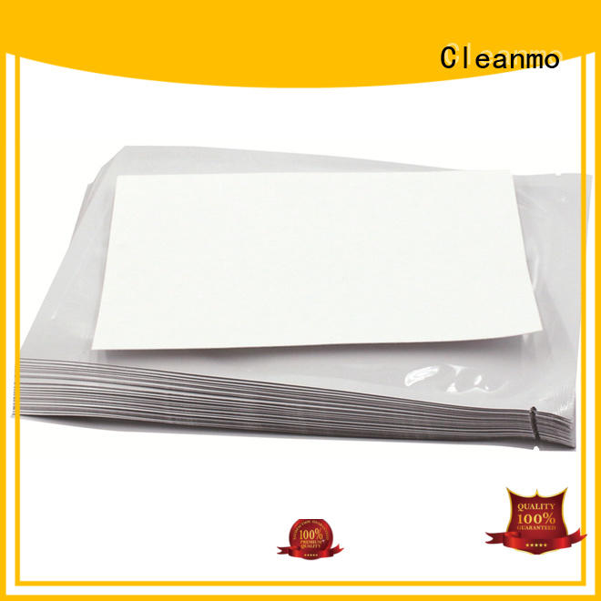 quick Evolis Cleaning cards Aluminum Foil supplier for ID card printers