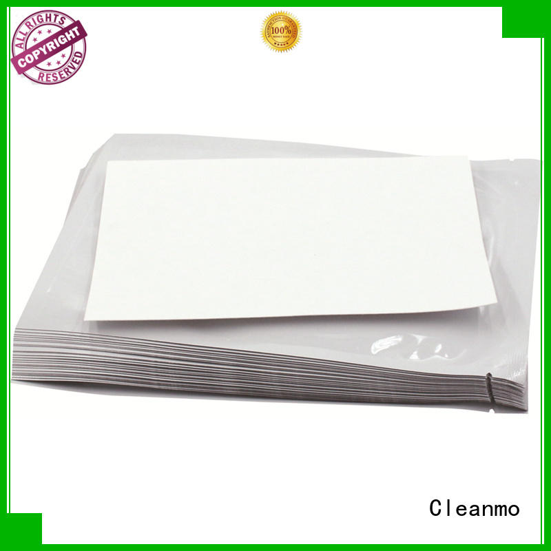 Cleanmo quick clean printer head factory price for Evolis printer