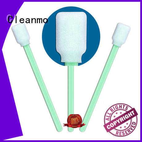 Cleanmo affordable oral sponge sticks factory price for excess materials cleaning