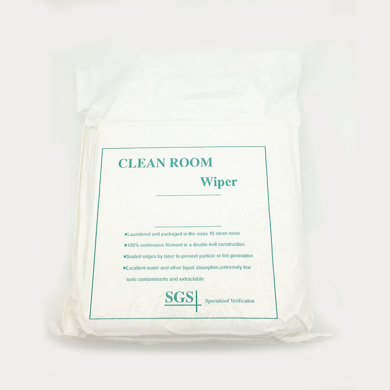 Cleanmo durable microfiber lens wipes 70% Polyester for stainless steel surface cleaning-3