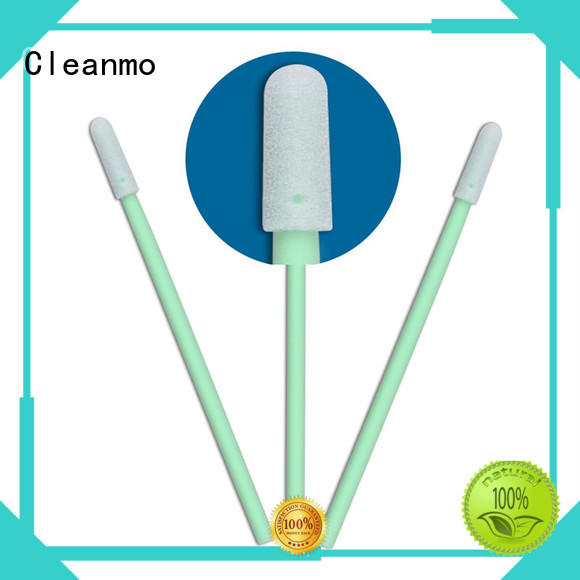 high quality plastic cotton swabs small ropund head wholesale for excess materials cleaning