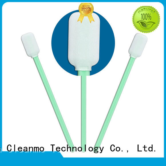 Cleanmo ESD-safe cleanroom q tips factory price for Micro-mechanical cleaning