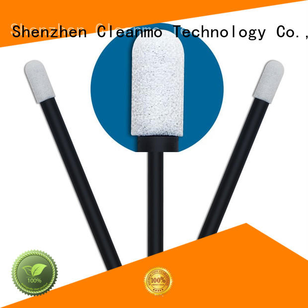 Cleanmo Polyurethane Foam cotton swab manufacturer for excess materials cleaning