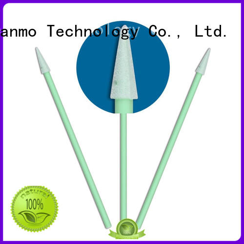 Cleanmo precision tip head swab stick wholesale for excess materials cleaning