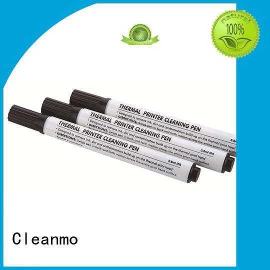 Cleanmo convenient Evolis Cleaning Pens factory price for ID card printers