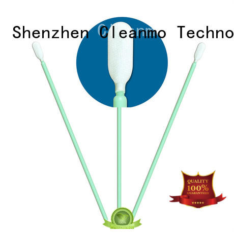 cost-effective cleaning swabs foam Polypropylene handle factory price for general purpose cleaning