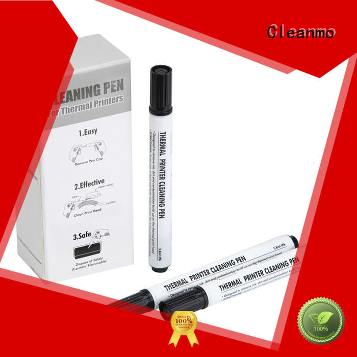Cleanmo durable thermal cleaning pen factory price for Check Scanner Roller